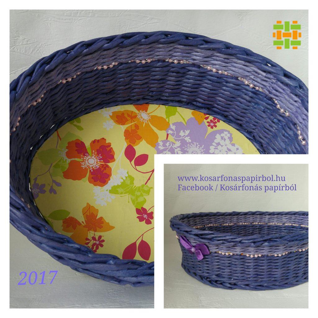 2017.09. lila ovális gyöngyös